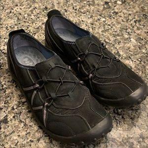 Privo leather slip on sneakers